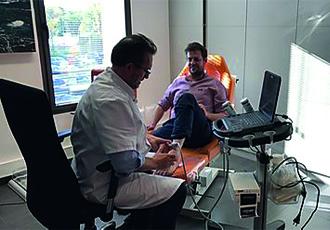 Consultation au centre SOS Pied Cheville