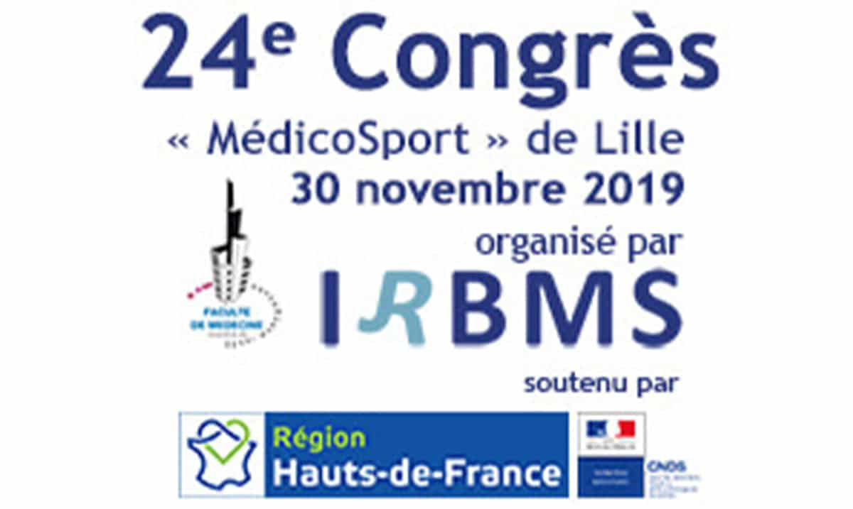 Congrès De Lille MédicoSport