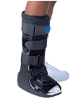 Fracture du Lisfranc : traitement par immobilisation