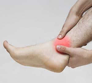 Cartilage cheville : traitement