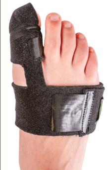 Traitement de la sesamoidite : port d'une orthèse
