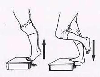 Protocole de Stanish : exercice de montée de marche